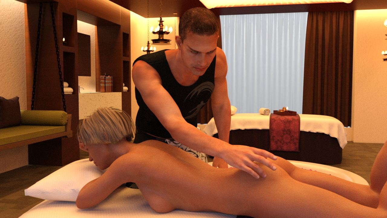 Sex at the spa