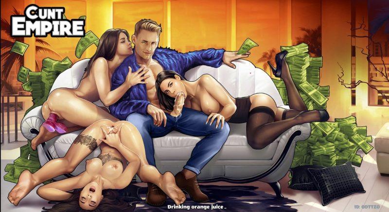 Adult erotic game